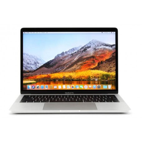 Macbook Pro 13 inch Touch Bar (Mid 2017) - 8GB RAM - 256GB SSD - Intel Core i5 3.1Ghz - Silver - QWERTY US