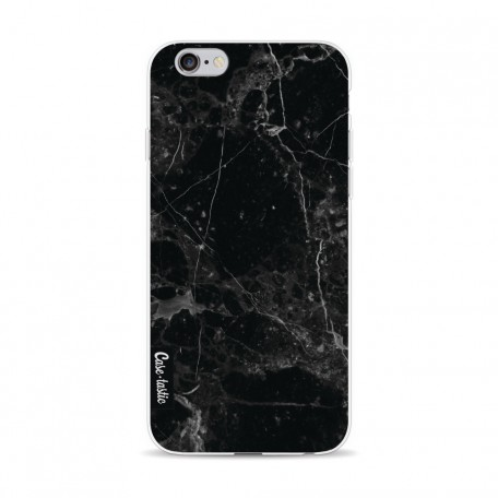 Casetastic Softcover Apple iPhone 6 / 6s - Black Marble