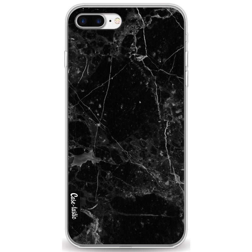 Casetastic Softcover Apple iPhone 7 Plus / 8 Plus - Black Marble