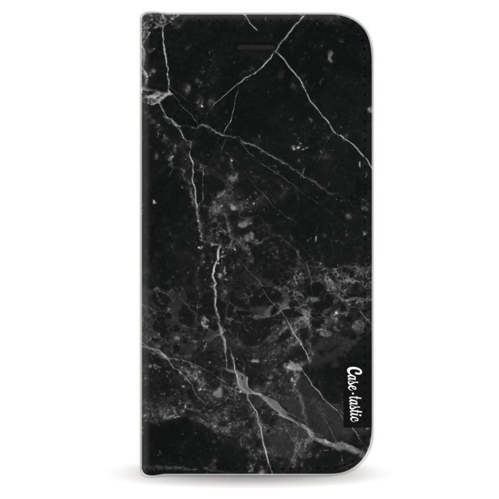 Casetastic Wallet Case Black Apple iPhone 6 / 6S - Black Marble