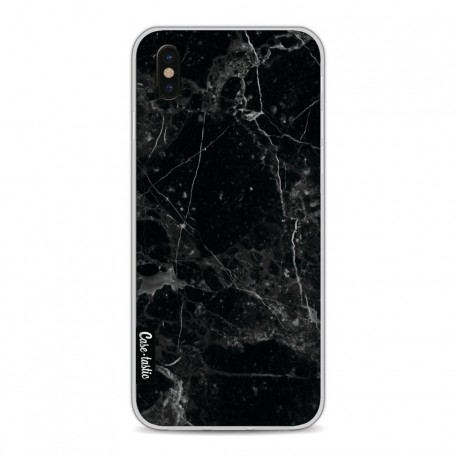 Casetastic Softcover Apple iPhone X / XS - Black Marble