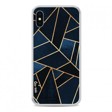 Casetastic Softcover Apple iPhone X / XS - Navy Stone
