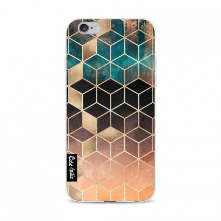 Casetastic Softcover Apple iPhone 6 / 6s - Ombre Dream Cubes