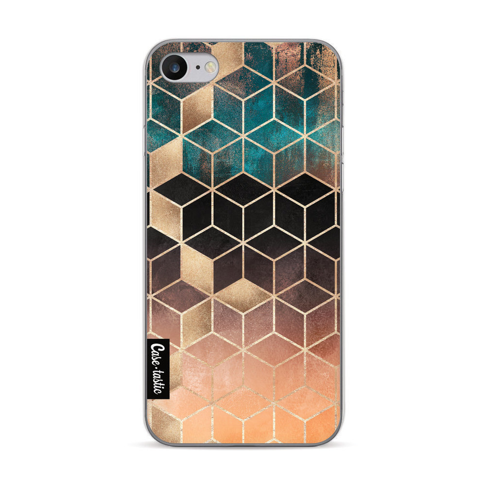 Casetastic Softcover Apple iPhone 7 / 8 / SE (2020)- Ombre Dream Cubes