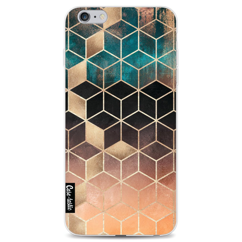 Casetastic Softcover Apple iPhone 6 Plus / 6s Plus - Ombre Dream Cubes