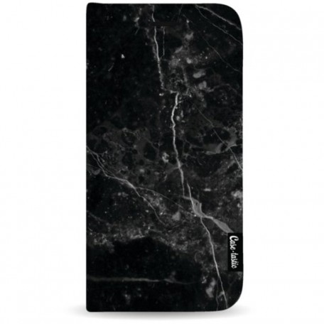 Casetastic Wallet Case Black Apple iPhone 7 Plus / 8 Plus - Black Marble