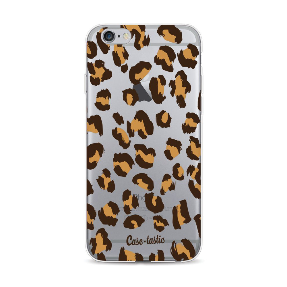 Casetastic Softcover Apple iPhone 6 / 6s - Leopard Print