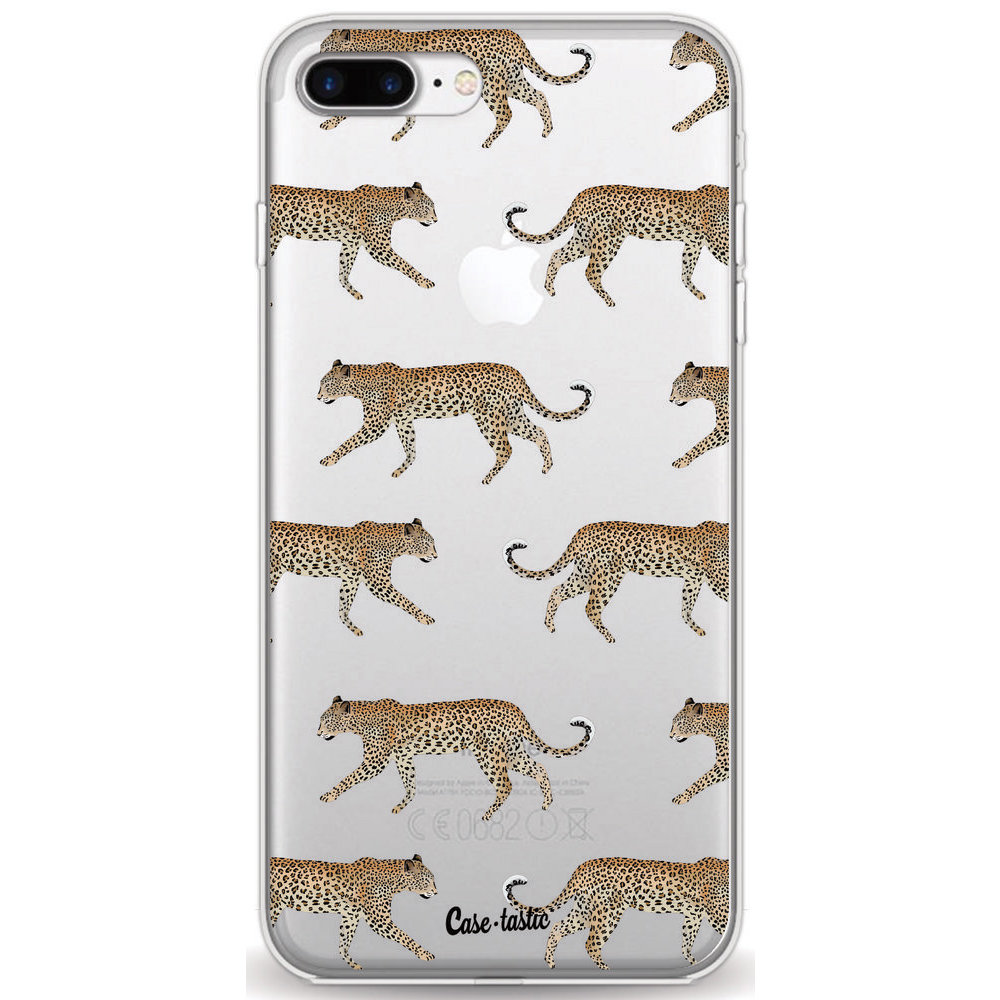 Casetastic Softcover Apple iPhone 7 Plus / 8 Plus - Hunting Leopard
