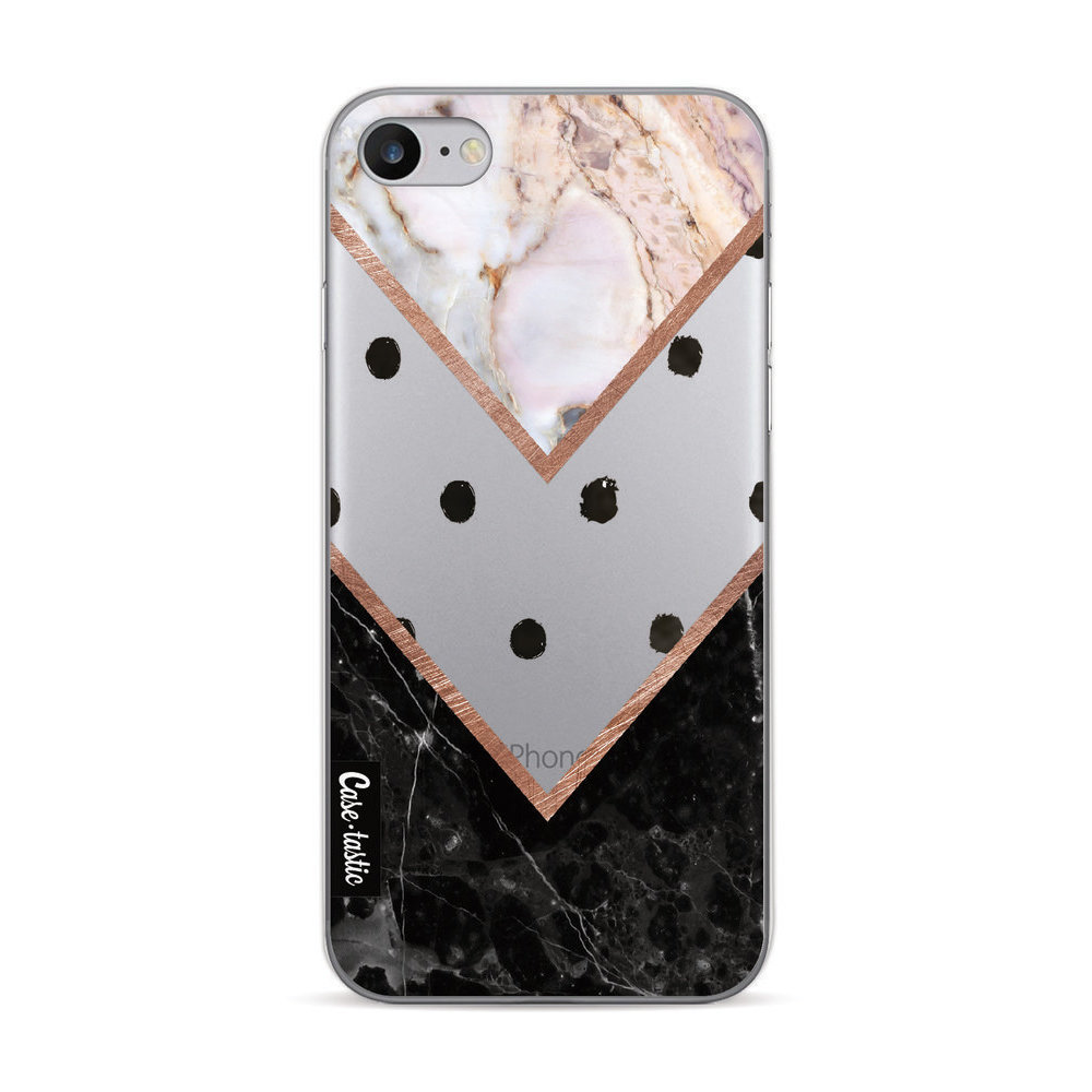 Casetastic Softcover Apple iPhone 7/8 - Mix of Marbles