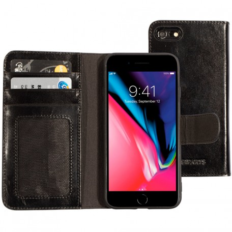 Mobiparts Excellent Wallet Case 2.0 Apple iPhone 7/8 Jade Black