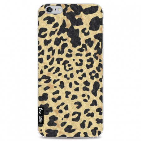 Casetastic Softcover Apple iPhone 6 Plus / 6s Plus - Leopard Print Sand