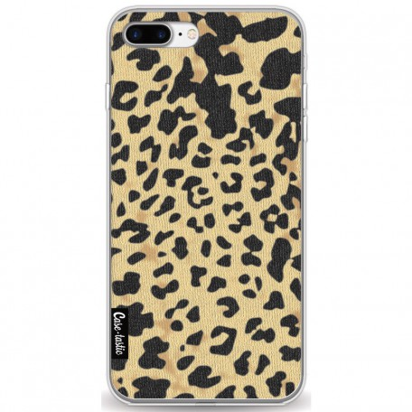 Casetastic Softcover Apple iPhone 7 Plus / 8 Plus - Leopard Print Sand