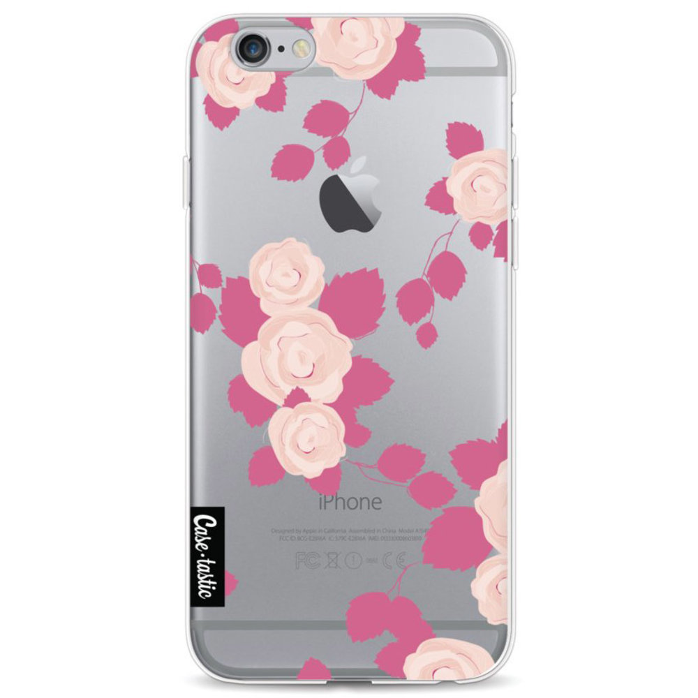 Casetastic Softcover Apple iPhone 6 / 6s - Pink Roses