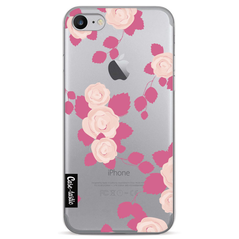 Casetastic Softcover Apple iPhone 7 / 8 - Pink Roses