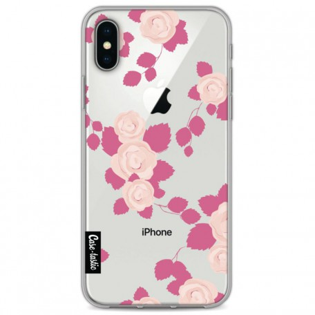 Casetastic Softcover Apple iPhone X / XS - Pink Roses