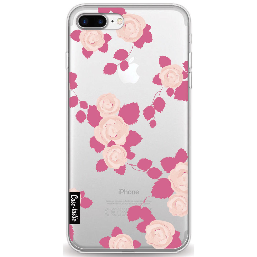 Casetastic Softcover Apple iPhone 7 Plus / 8 Plus - Pink Roses