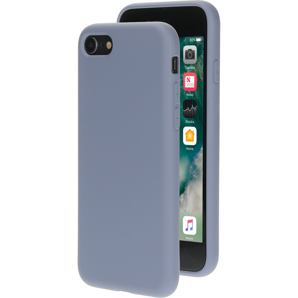 Mobiparts Silicone Cover Apple iPhone 7/8 Royal Grey