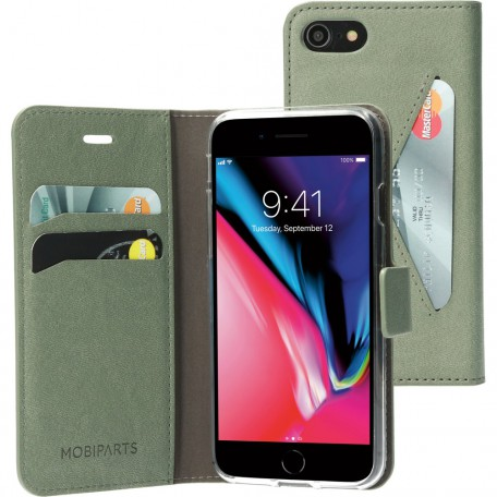 Mobiparts Classic Wallet Case Apple iPhone 7/8 Stone Green