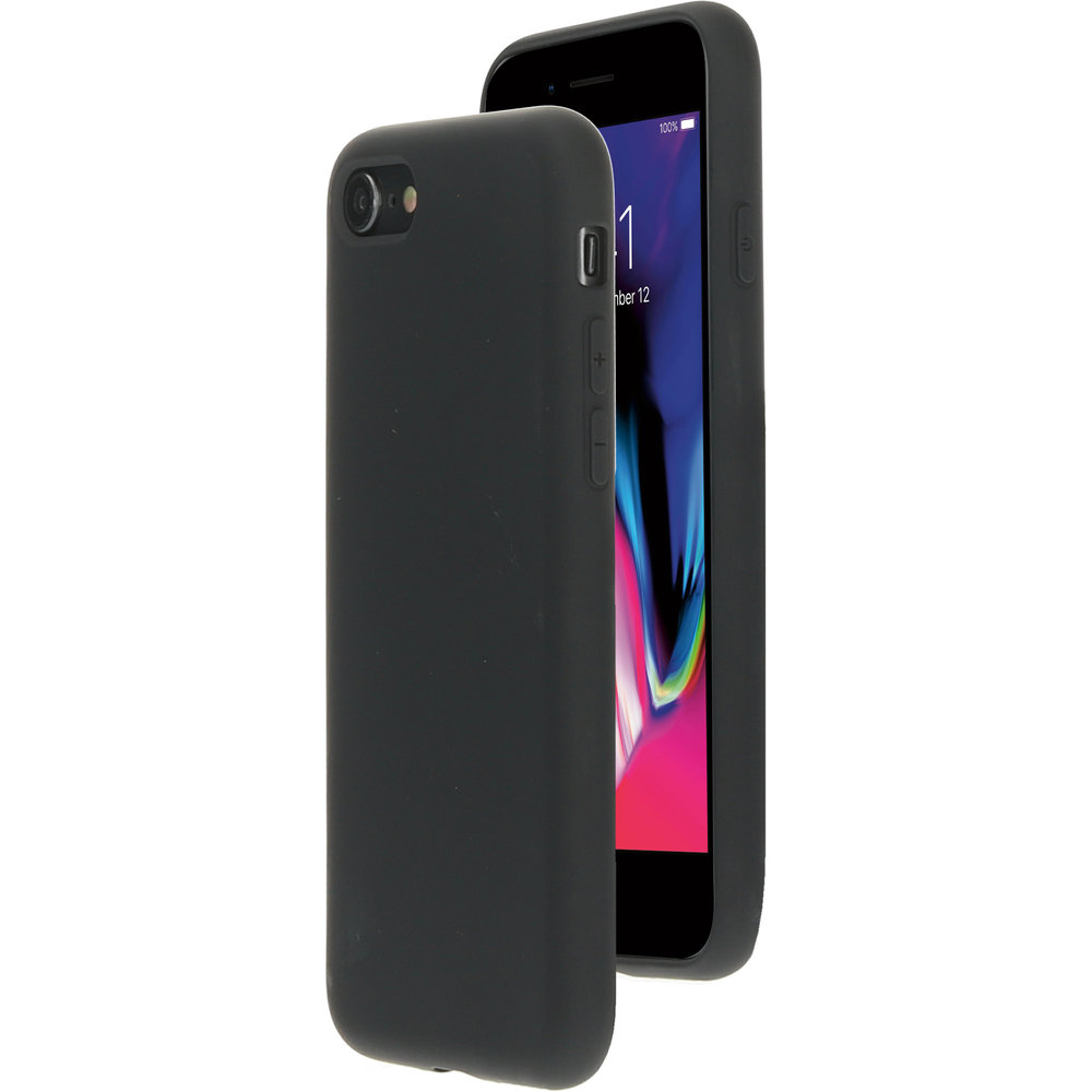 Mobiparts Silicone Cover Apple iPhone 7/8 Black