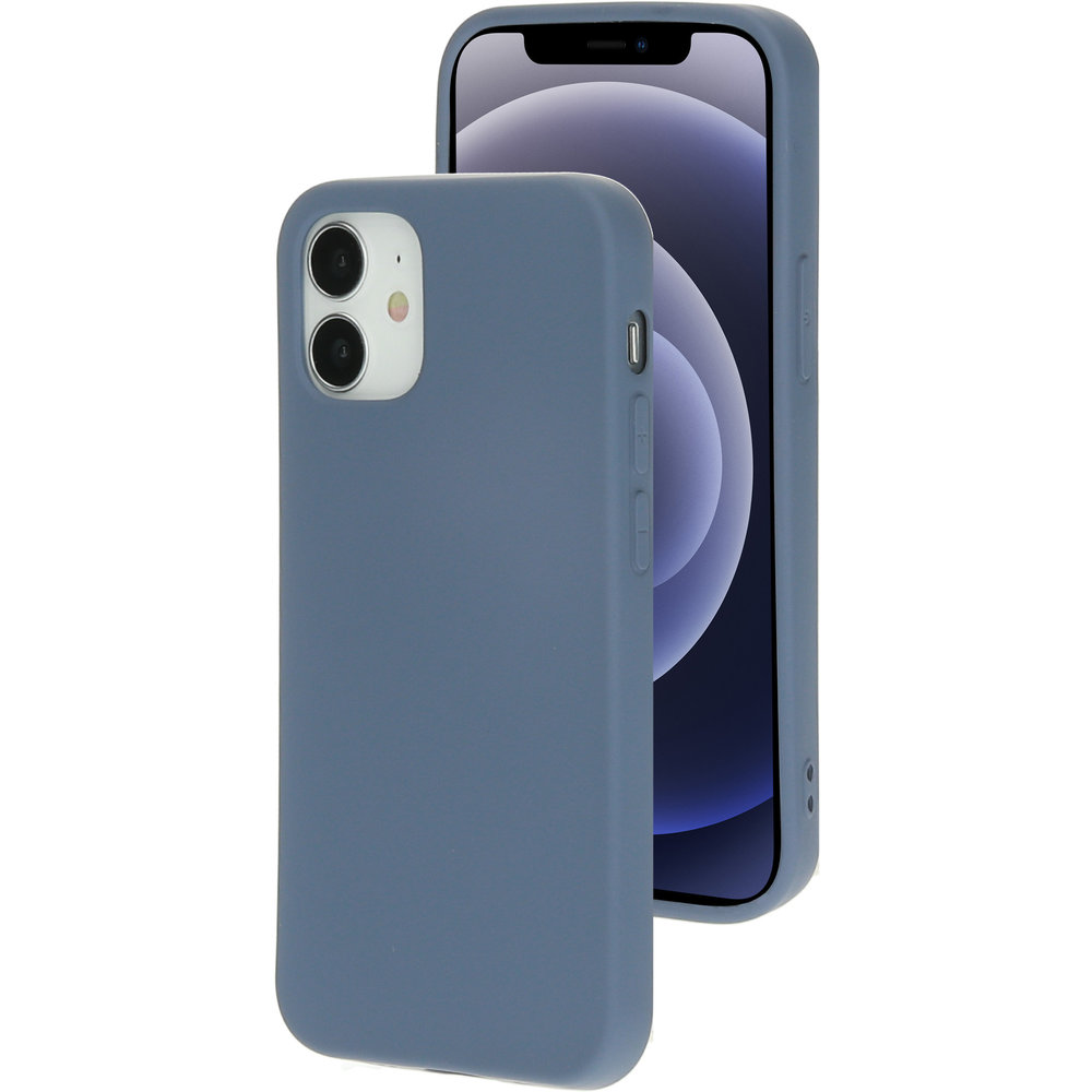 Mobiparts Silicone Cover Apple iPhone 12 Mini Royal Grey