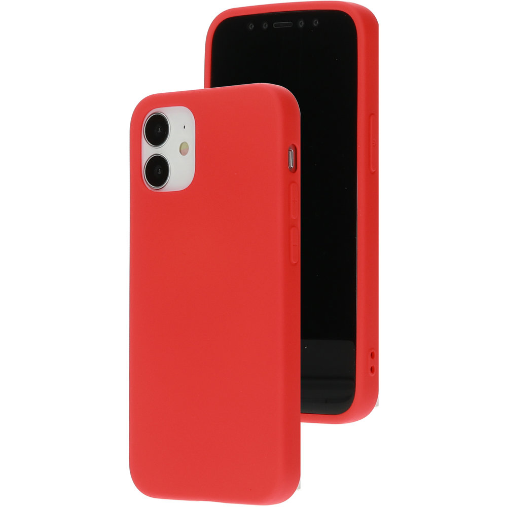 Mobiparts Silicone Cover Apple iPhone 12 Mini Scarlet Red