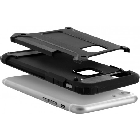 Mobiparts Rugged Shield Case Apple iPhone 8 Black